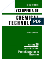 Encyclopedia of Chemical Technology [Vol 20]