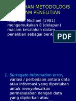 (5) 5.1. Kesalahan Sampling