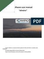 User Manual XEnviro