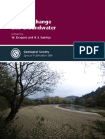 Climate Change and groundwater