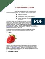 16 Alimentos Que Contienen Mucha Vitamina C