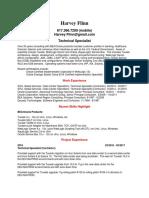 Oracle WebLogic Tuxedo SME in United States Resume Harvey Flinn