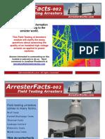 ArresterWorks ArresterFacts-002 Field Testing Arresters