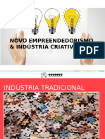 Novo Empreendedorismo & Indústria Criativa