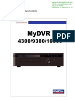DVR 8 CANALES ICANTEK MYDVR8300