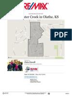 Clearwater Creek Neighborhood Real Estate Report