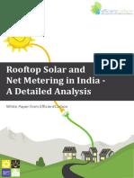 Net Metering and Solar Rooftop Whitepaper EfficientCarbon