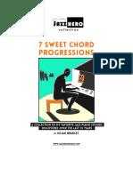 7 Sweet Chord Progressions eBook New