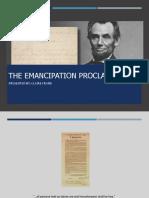 emancipation proclamation powerpoint