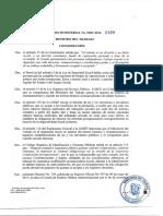 Acuerdo Ministerial No Mdt 2016 0100