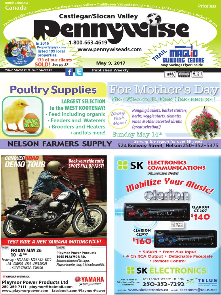 Castlegarslocan valley pennywise may 9 2017 advertising castlegarslocan valley pennywise may 9 2017 advertising agriculture publicscrutiny Gallery