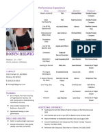 acting resume robyn helwig may 2017