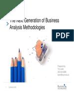 Next Generation of Business Analysis Methodologies
