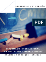Brochure Diplomado Neurociencias y Educación Integrativa 2017
