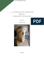biographyofamathematicianprojectpythagorasofsamos