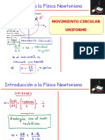 3- Movimiento Circular Uniforme