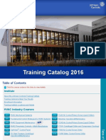 BE 2016TrainingCatalog