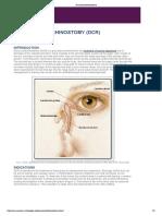 Dacryocystorhinostomy