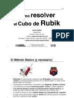 Como Resolver El Cubo de Rubik - Alvaro Ibanez