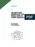 Risolvere Il Cubo Magico Di Rubik