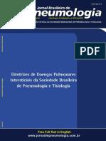 Diretrizes Brasileiras de Doenças Pulmonares Intersticiais