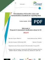 Proposal for EU Fire Causes Classification Scheme