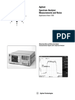Agilent - Spectrum Analyzer Measurements and Noise.pdf