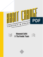 Habit Change Theory and Practice