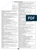 Masterkey FCE Glossary
