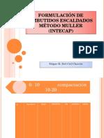 Formulación de Embutidos Escaldados Método Muller Intecap