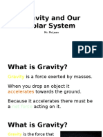 gravity and earths systems