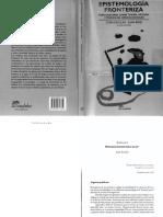 Escolar - Besse (Coord.) Epistemología Fronteriza