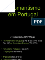 3.O Romantismo Em Portugal