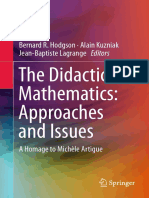 Alain Kuzniak, Bernard R Hodgson, Jean-Baptiste Lagrange (Eds.)-The Didactics of Mathematics_ Approaches and Issues_ a Homage to Michèle Artigue -Springer International Publishing (2016)