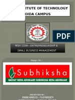 Case Study of Subhiksha