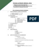 PARTIDA Y TRABAJOS ARANCELARIOS COMERCIO INTERNACION