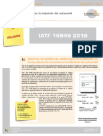 IATF 16949-2016 en Español