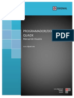 Manual de Usuario QUADX