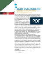 Golden Stars Awards 2010 - Europe for Citizens
