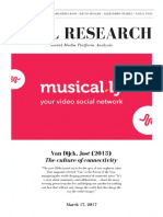 Musical.ly Social Media Platform Analysis.