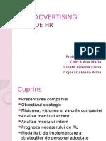 Plan de HR - ARA Advertising