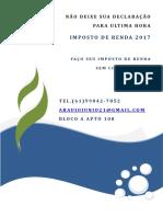 Folder Irpf 2017 Junio
