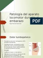 4.-Patologia Del Aparato Locomotor Durante El Embarazo