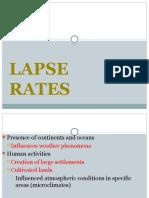 6. Lapse Rates