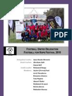 Footballl United's Hope Team