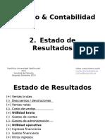 Clase 2- Estado de Resultados - Clv