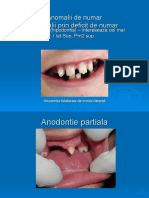 distrofii dentare