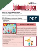 Boletín Epidemiológico, el Ministerio del Poder Popular para la Salud
