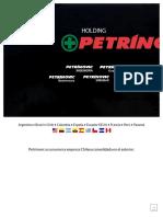 Petrinovic _ Cobertura a Nivel Mundial, Con Un Equipo Humano de Excelencia