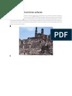 Grandes Construcciones Aztecas